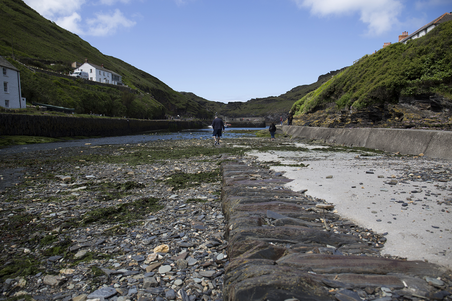 A banishment spell groundwork a view of a harbour and surrounding cliffs biocorpaavc Images