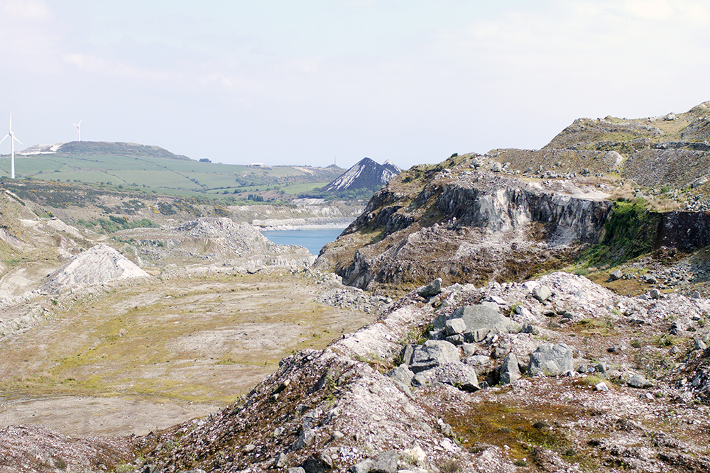 A clay pit landscape